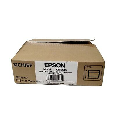 AU135.11 • Buy Chief CHF2500 RPA Elite Projector Ceiling Mount For Epson Home Cinema Black NEW