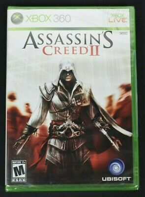 £108.15 • Buy Assassin's Creed II Black Label 1st First Print (Xbox 360, 2009) *NEW SEALED*