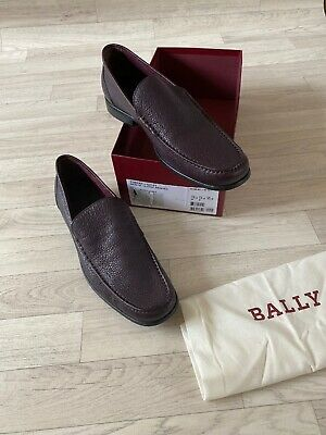 £155 • Buy Bally Shoes Mens Loafers Derby Formal TENENT Leather Shoes UK11 US12 EU11 FR45