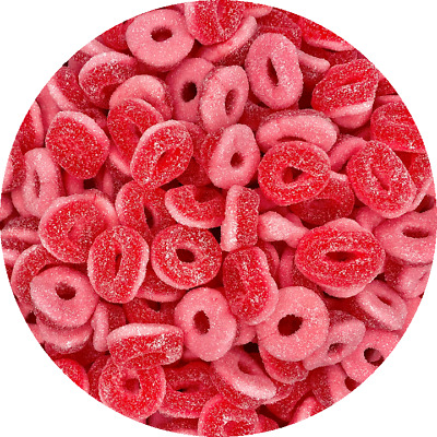 £3.99 • Buy Sour Blackcurrant Rings 200g 400g 600g 1KG RETRO SWEETS PICK N MIX HALLOWEEN