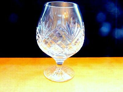 £10.95 • Buy Royal Doulton Crystal Westminster Cut Brandy Glasses As New
