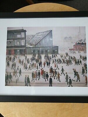 £6.99 • Buy L.s Lowry  Going To The Football Match  Framed Print