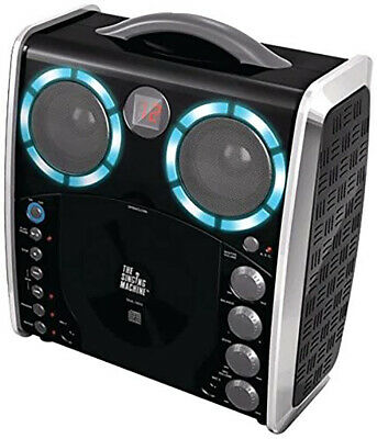£21.99 • Buy Singing Machine Portable CD-G Karaoke Player And 3 CDGs Party Pack, Blac  SML-38