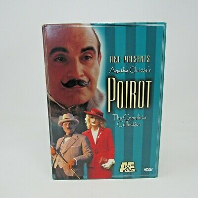 £10.86 • Buy A&E Poirot The Complete Collection 4 DVD Collection 2002 Agatha Christie