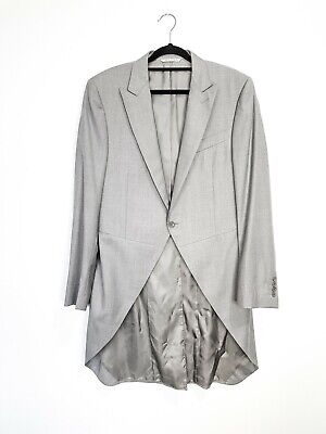 £198.38 • Buy CANALI Grey Tails Jacket Morning Suit Coat Size 50R NEW Made In Italy $1895