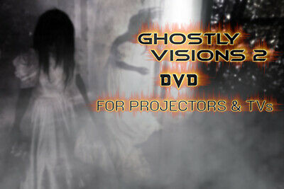 £6.50 • Buy ∞ghostly Visions 2∞digital Window Halloween Decorations For Projector Dvd Format