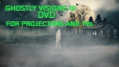 £6.50 • Buy ∞ghostly Visions 3∞digital Window Halloween Decorations For Projector Dvd Format