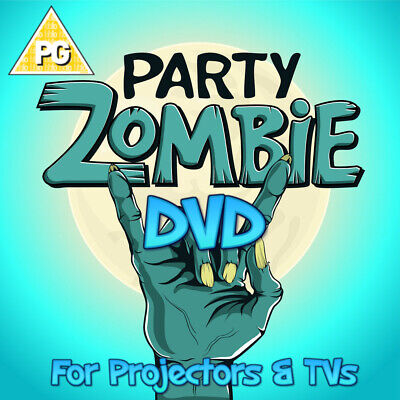 £6.50 • Buy ∞zombie Party∞digital Window Halloween Decorations For Projector Dvd Format