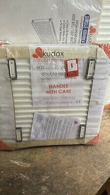 £17.77 • Buy Kudox Double Radiator New In Packaging 600 X 600