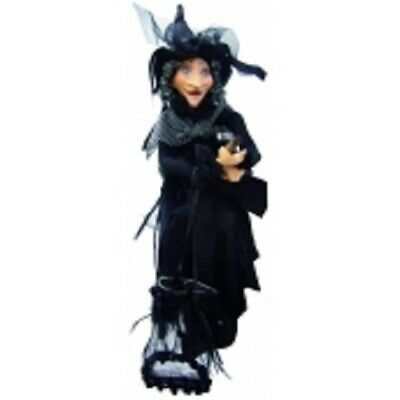 £31.50 • Buy Witches Of Pendle *klaudia   Black Flying Witch 45 Cms  Info Book Pagan/ Occult
