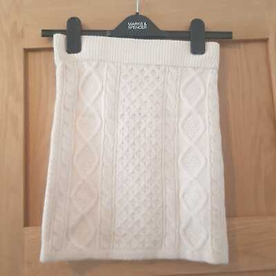 £9.99 • Buy Primark Knitted Mini Skirt - Ivory Cream - Size 2XS (4/6 UK) - New With Tags