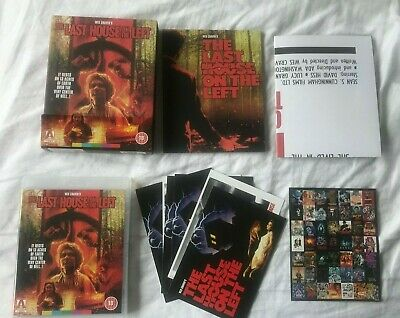 £49.99 • Buy Wes Craven's THE LAST HOUSE ON THE LEFT Limited Edition Arrow Video Blu-Ray Box