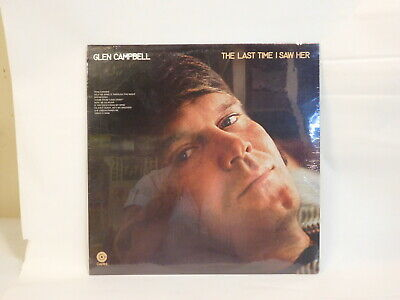 $ CDN14.99 • Buy Glen Campbell The Last Time I Saw Her SW-733 Lp Record EMi