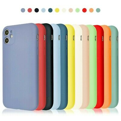 £3.85 • Buy Case For IPhone XR 12 11 Pro Max XS X 8 7 6 Plus SE 2 Shockproof Silicone Cover