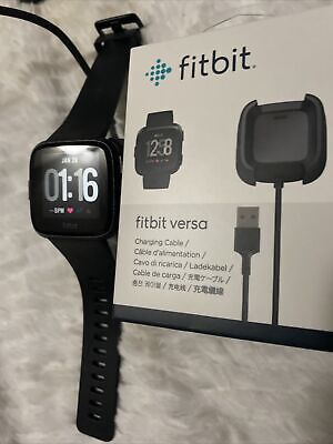 $ CDN93.63 • Buy Fitbit Versa Rose Gold Excellent Cond+New OEM Charger +2 Bands (color Of Choice)