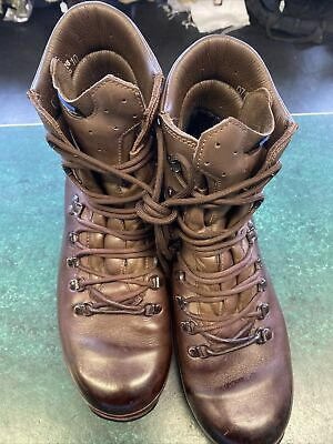 $90.34 • Buy Army Surplus Ex Military Altberg Brown Boots Size 10M