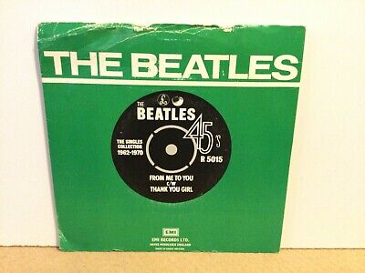 """£4.99 • Buy The Beatles – From Me To You - 7"""" Vinyl Single PS – 1976 - REF.8450"""