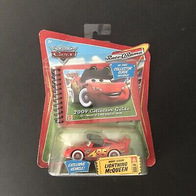 £14.54 • Buy Disney CARS Night Vision LIGHTING MCQUEEN #109 Collectors Guide 2009 Exclusive