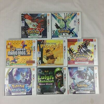 $21.61 • Buy Nintendo 3DS Fun Pick & Choose Lot Video Game Cases & Manuals Only No Game
