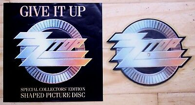 £22.99 • Buy NEAR MINT ! ZZ TOP GIVE IT UP SHAPED VINYL PIC PICTURE DISC Dusty Hill