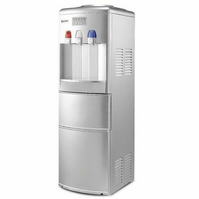 $439.71 • Buy Top Loading Water Dispenser With Built-In Ice Maker Machine-Silver - Color: Sil