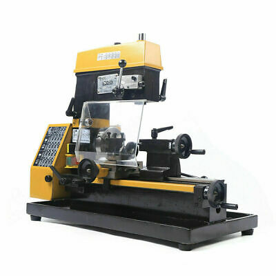$1403.04 • Buy 110V 3-in-1 Micro Multi-function Cutting & Drilling & Milling Lathe Machine