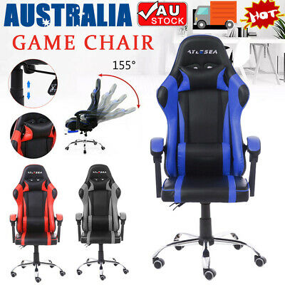 AU88.90 • Buy Office Chair Gaming Chair Computer Executive Chairs Racing Racer Seating AU