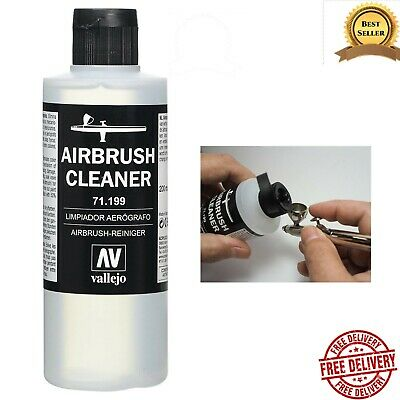 £9.82 • Buy Airbrush Cleaner 200ml Vallejo Acrylic Paint Waterbased Model Air Non-Toxic NEW