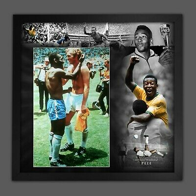 £149.99 • Buy Pele Brazil Signed Football Photograph In A Framed Picture Mount Presentation :C