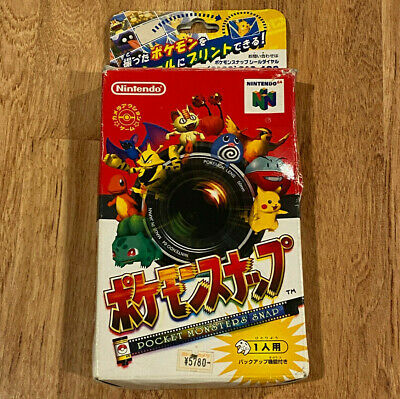 $22 • Buy Pokemon Snap In Box(No Manual), FOR JAPAN CONSOLES ONLY Nintendo 64 N64
