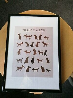 £8.99 • Buy Ls Lowry All His Dogs Framed Print