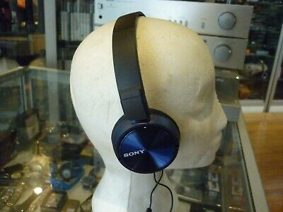 AU32.95 • Buy Sony Wired Over-ear Headphones In Blue - Au Stock !