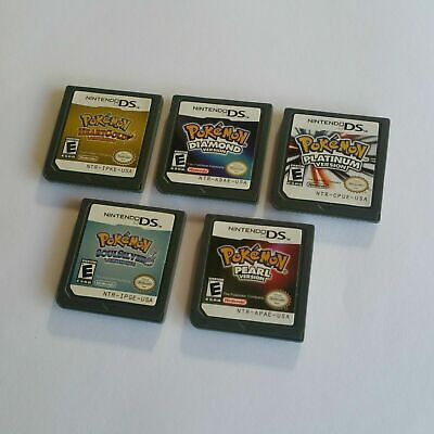 AU29.99 • Buy Various Pokemon NDS Game Card Cartridge For Nintendo DS 2DS 3DS 3DSXL