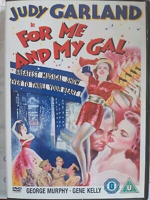 £13.99 • Buy For Me And My Gal (1942) DVD Judy Garland Gene Kelly Busby Berkeley AS NEW
