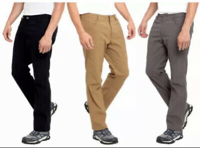 $24.97 • Buy NWT! Eddie Bauer Men's Fleece Lined Water Resistant Stretch Pant VARIETY