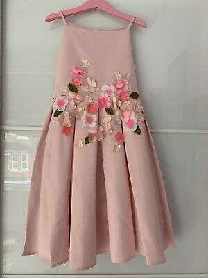 £30 • Buy Monsoon Flower Girl Pink Dress Age 8 In Excellent Used Condition