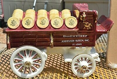 $ CDN1007.07 • Buy Metlox Poppytrail Budweiser Clydesdale Hitch And Wagon Mint Condition