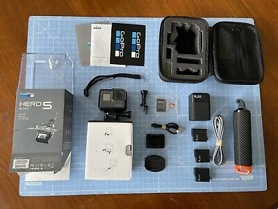 $ CDN436.03 • Buy *GoPro Hero 5 Black Action Camera With Huge Accessories Bundle Attachments Case*