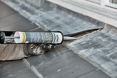 £6.50 • Buy Everbuild Lead Mate Leadmate Roof Roofing Flashing Sealant Joint Sealer C3 Grey