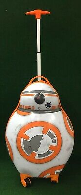£38.99 • Buy Scarce Official Disney Store Star Wars BB 8 Hard Travel Case Luggage On Wheels