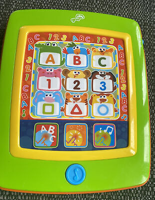 £7.99 • Buy Grow & Play Learning Tablet/pad Baby/preschool Toy. Letters, Shapes & Numbers.