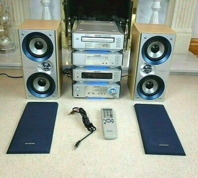 £109 • Buy Aiwa Hi-Fi System With CD/Tape/Tuner/Amplifier & Speakers *Made In Japan*