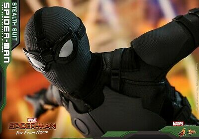 $ CDN67.37 • Buy Hot Toys - Spiderman - Stealth Suit -Normale Version - Spiderman: Far From Home