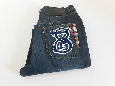 $24.95 • Buy Eight 732 8732 Jeans Denim  Embroidered Pockets SIZE 34