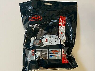 £18 • Buy JSP Force 8 Mask Respirator With Press-to-check Filters P3 *Brand New*