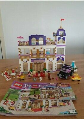 £64.95 • Buy 100% Complete Lego Friends Grand Hotel 41101, Checked Twice