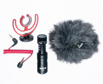 £51.69 • Buy Rode VideoMicro Compact On-Camera Microphone With Rycote Lyre Shock Mount New