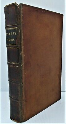£45 • Buy The Works Of Lord Byron, Galignani 1 Volume Edition, First Thus, 1826