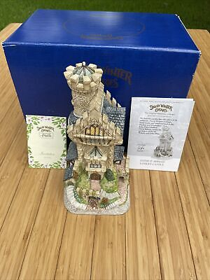 """£72.39 • Buy Vintage David Winter Sherwood Forest Collection """"Loxley Castle  New In Box"""