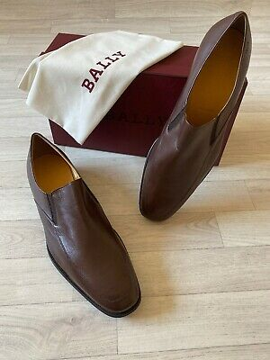 £125 • Buy Bally Shoes Mens Slip On Loafer THOR Bally Leather Shoes UK11 US12 EU11 FR45